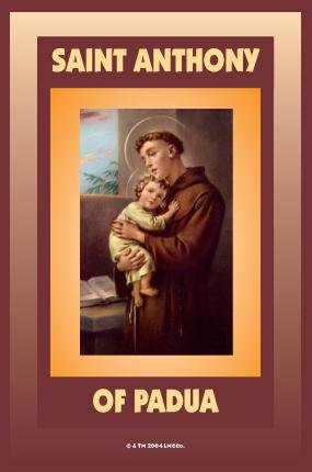 Santo Antonius dari Padua, penolong untuk mereka yang mencari barang-barang hilang